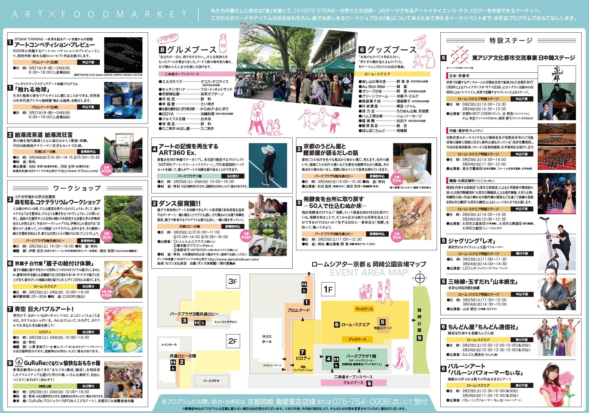ART・FOODMARKET_プログラム